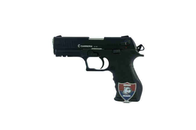 PISTOLA TRAUMATICA CARRERA GT50 MATE AIRGUNS COLOMBIA